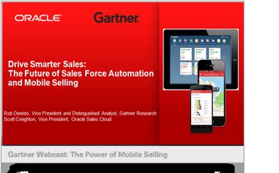 Gartner Webcast: The Power of Mobile Selling