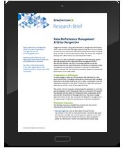 Sales Performance Sales Performance Management