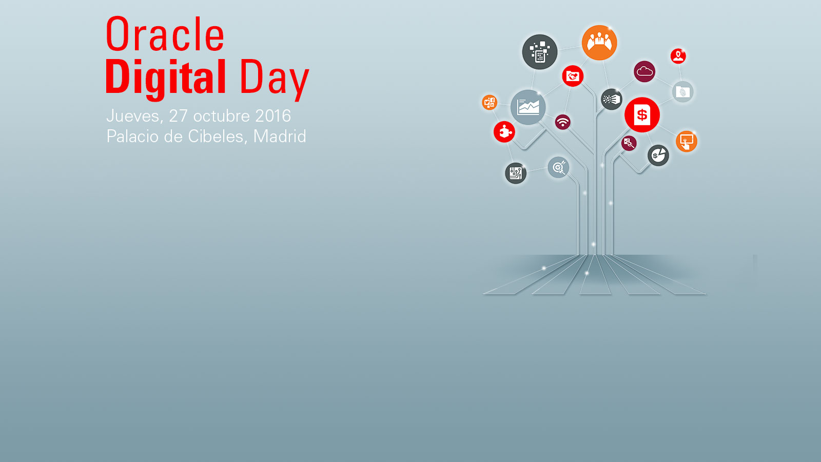 Oracle Cloud Day 27 de Octubre - Madrid