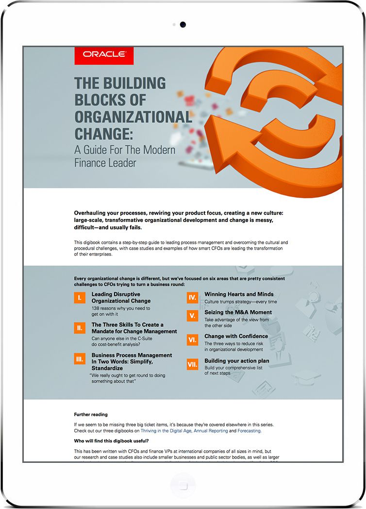 The Building Blocks of Organizational Change