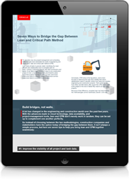 Seven Ways to Bridge the Gap Between Lean and Critical Path Method