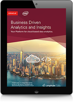 Business Driven Analytics and Insights