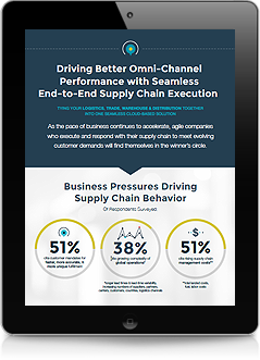 Driving Better Omni-Channel Performance with Seamless End-to-End Supply Chain Execution