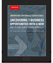 SAP/Oracle SCM approach