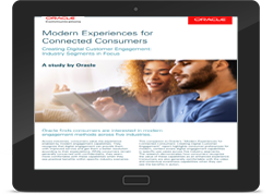 Modern Experiences for Connected Consumers