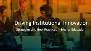 Driving Institutional Innovation