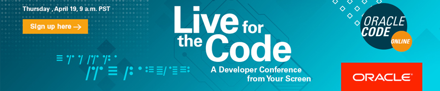 Live for the Code - Oracle Code