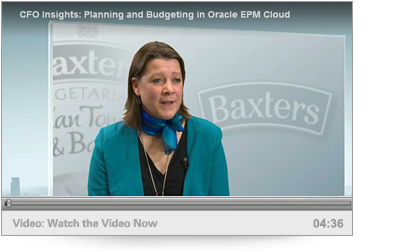 Planning and Budgeting in Oracle EPM Cloud