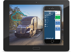 Oracle Transportation Management Mobile App