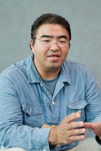 「わんくま同盟」の主宰者、中 博俊氏。「コスプレでの参加OK」が勉強会の特長の1つだ