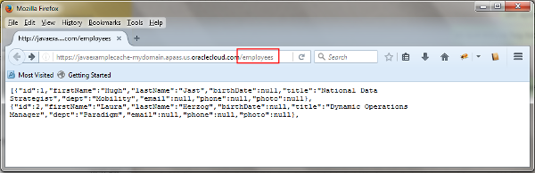 Creating a Java Application using the Java Cache API and a ...