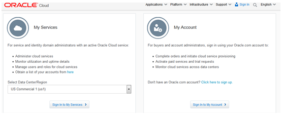 Generating an SSH Key Pair for Oracle Compute Cloud Service