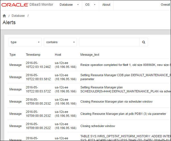 database alert log