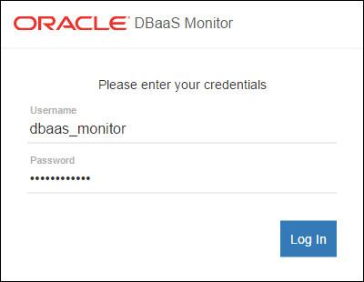 monitor login dialog