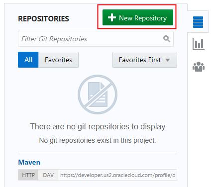 Create and Populate a Git Repository of Developer Cloud