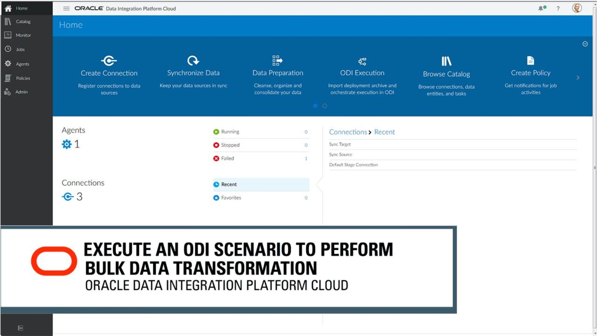 Create an ODI Execution Task to Perform Bulk Data Transformations video thumbnail