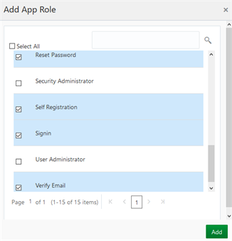 Customize the Oracle Identity Cloud Service Sign-In Page Using the