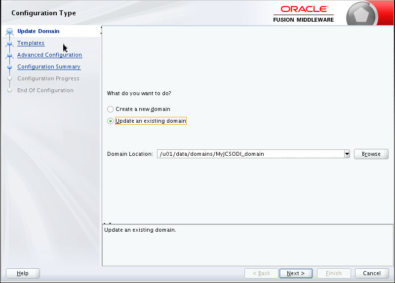 Provisioning Oracle Data Integrator Cloud Service