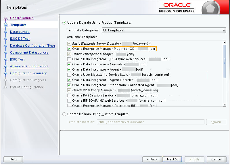 Oracle Data Integrator (ODI) Training