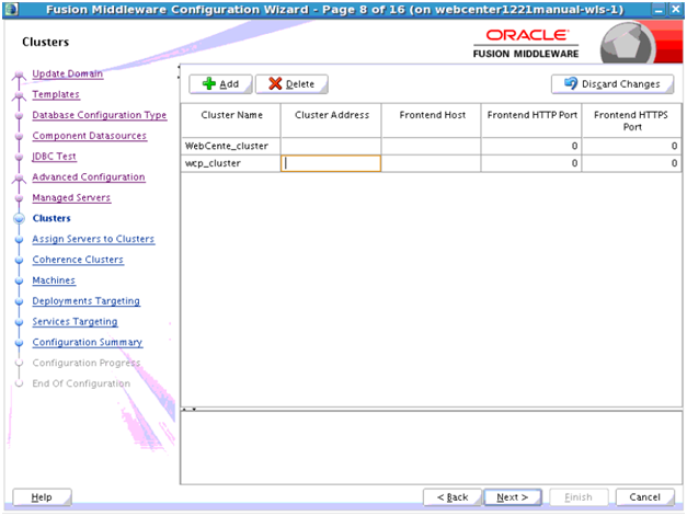 Provisioning Oracle WebCenter Portal on Oracle Java Cloud