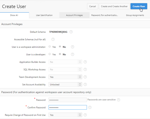 adding security to your database application using oracle