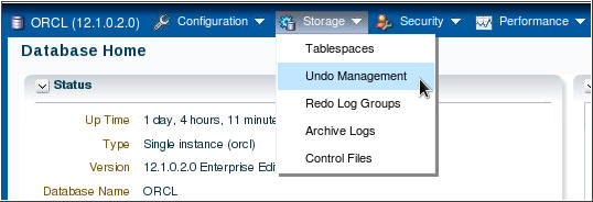 how to change undo_retention value in oracle