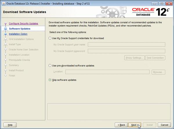 Installing Oracle Database 12c on Windows