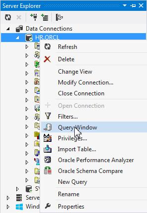 Oracle database generate test data