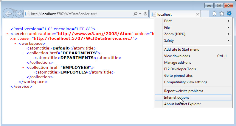 Wcf Data Services And Odata For Oracle Database - Resume Examples