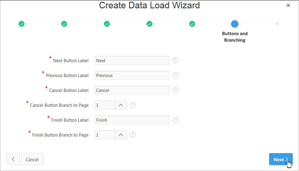 Creating a Data Load Wizard for Your Application with Oracle