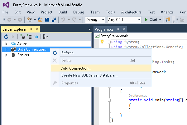 Entity Framework, LINQ and Model-First for the Oracle Database