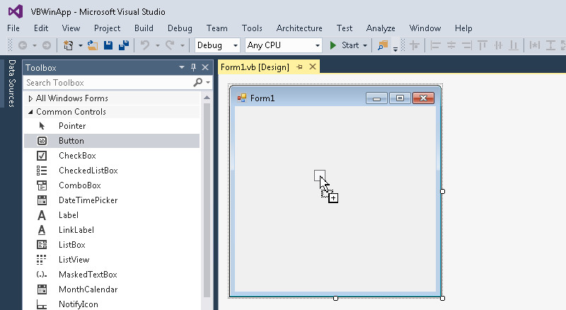 Getting Started with Oracle Data Provider for  NET (VB NET