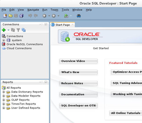 Installing and Administering REST Data Services with SQL Developer
