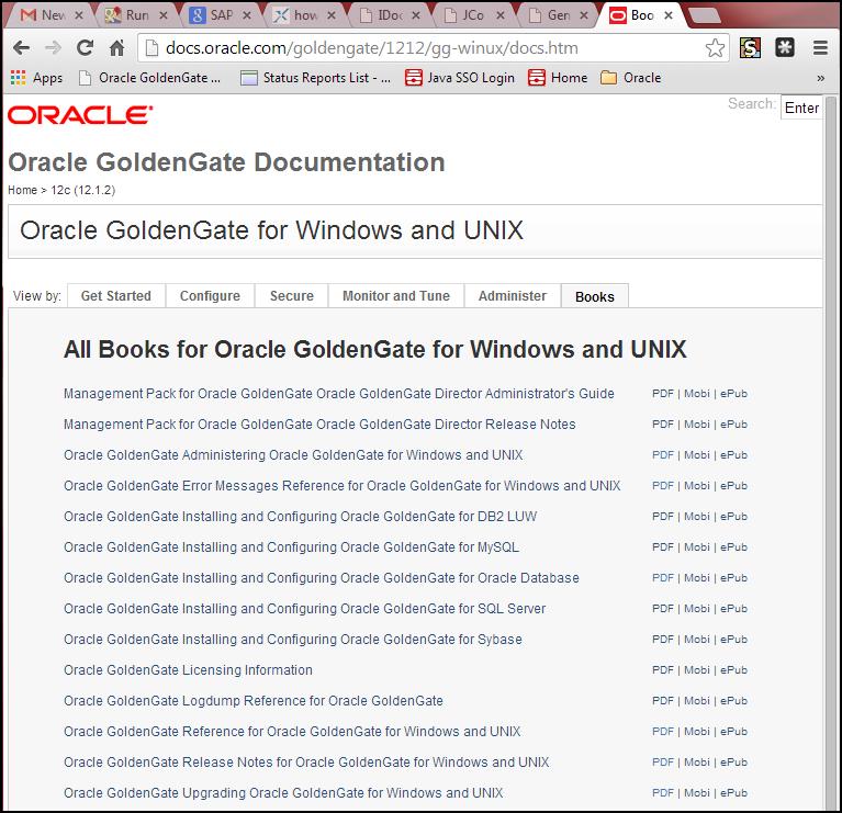 Installing Oracle GoldenGate for Oracle 12 1 2 on Linux EL 6