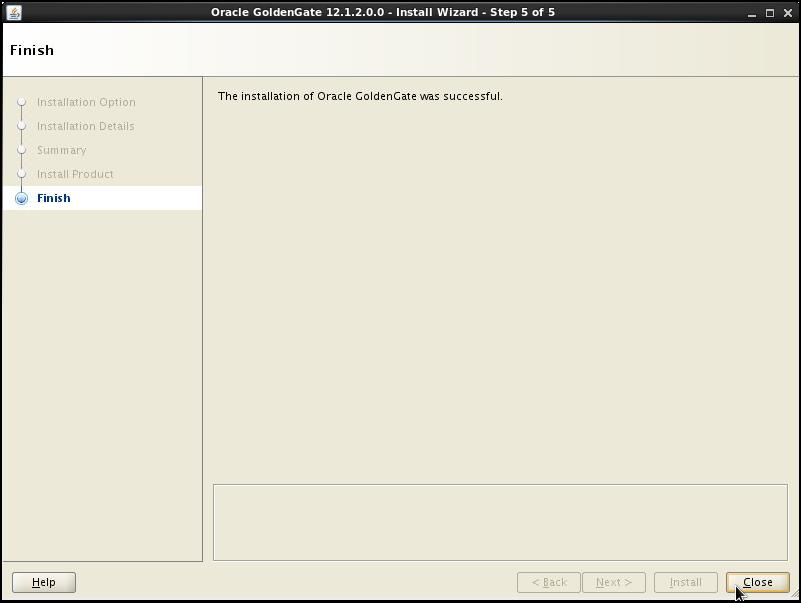Installing Oracle GoldenGate for Oracle 12 1 2 on Linux EL 6 x/RHEL
