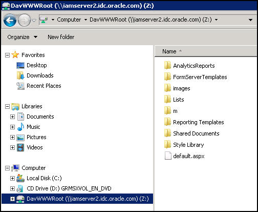 Secure access to network file shares - Sharepoint(WebDav) and