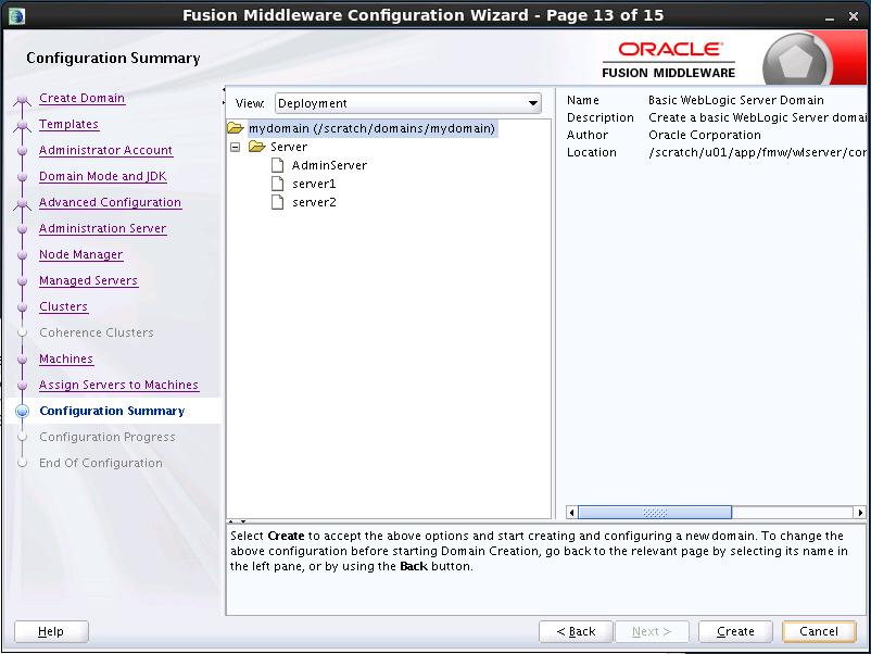 Oracle WebLogic Server 12c: Installing WebLogic Server and Creating