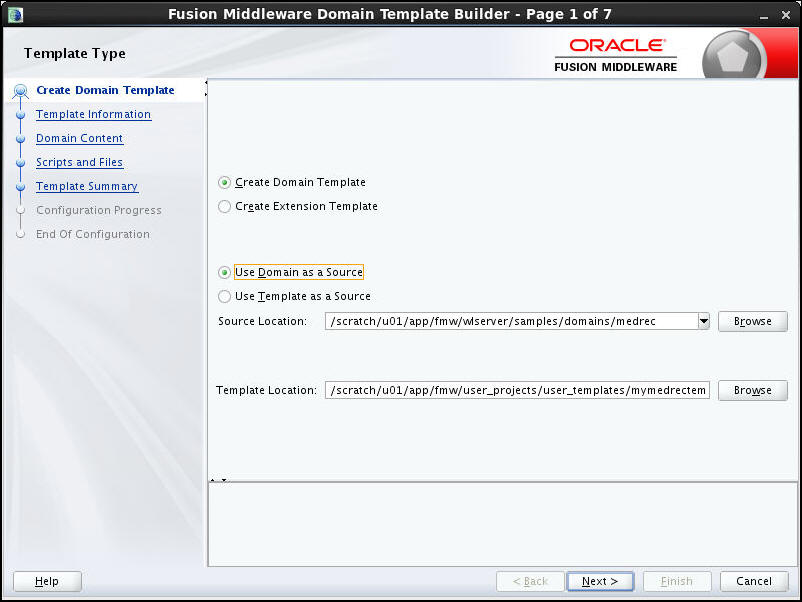 Oracle WebLogic Server 12c (12.2.1): Creating and Using a Domain ...