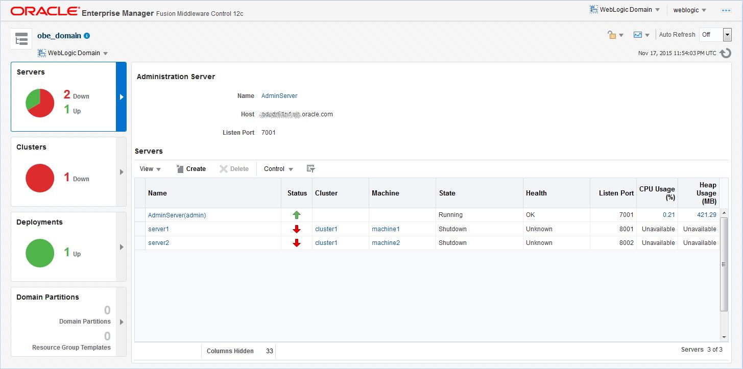 Oracle weblogic server 12c 1221 using fusion middleware home page baditri Images