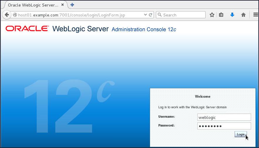 Weblogic Server 12c(12 2 1):Configuring SSL