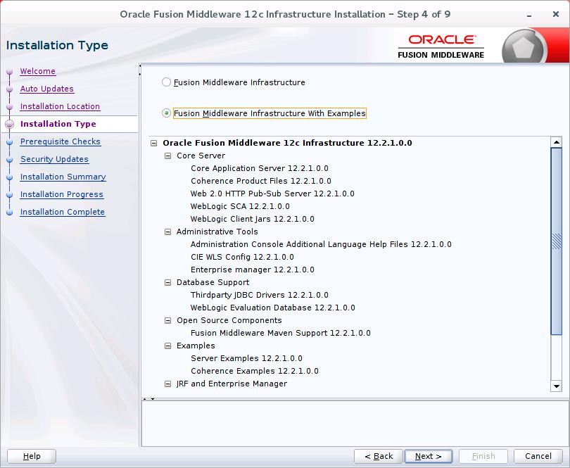 Oracle WebLogic Server 12c (12 2 1): Installing WebLogic