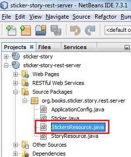 Java EE 7: Using JAX-RS Client API to consume RESTful Web