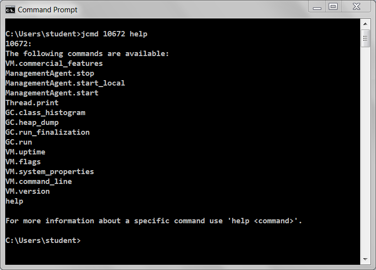 how to clear command prompt in java