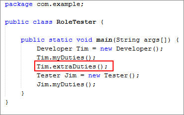 static java definition