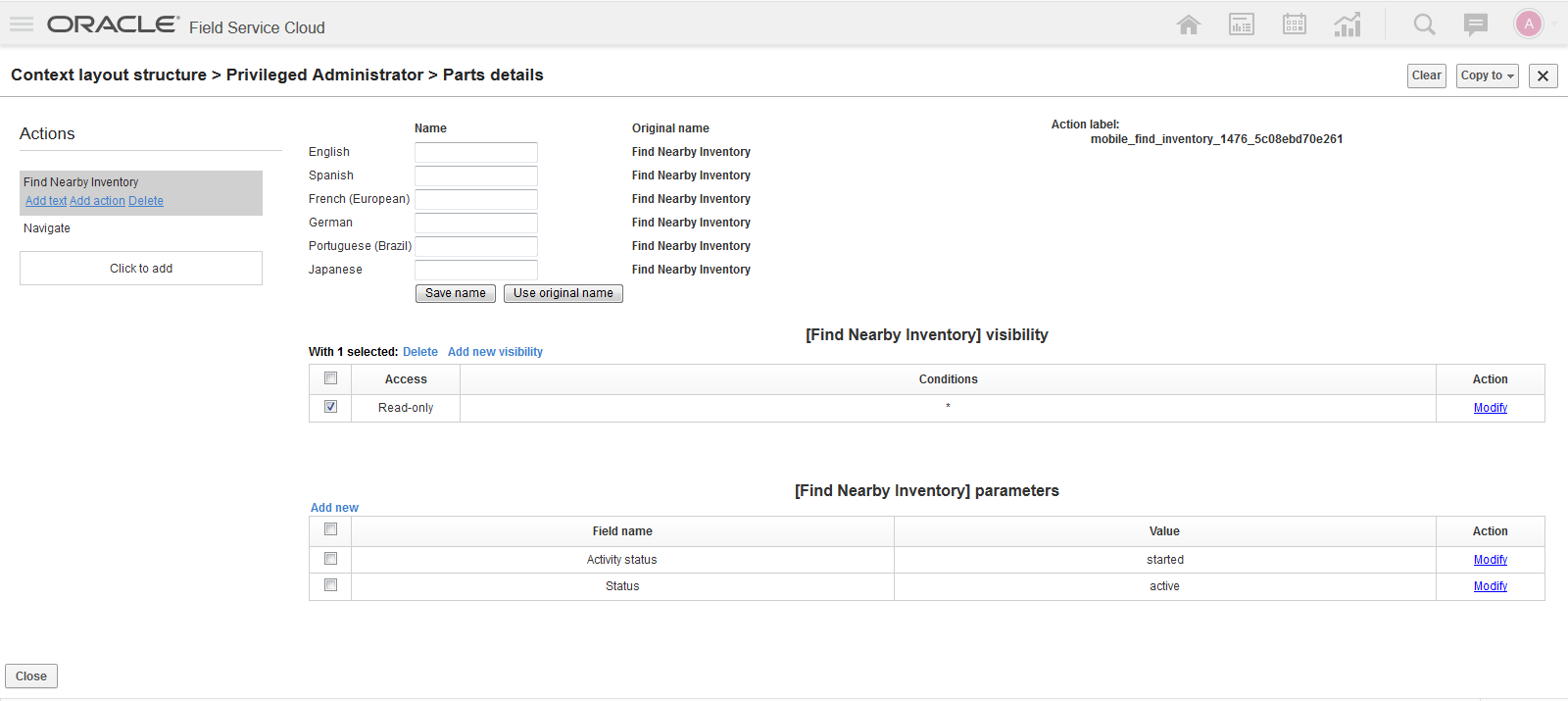 Oracle Field Service Cloud 19A What's New