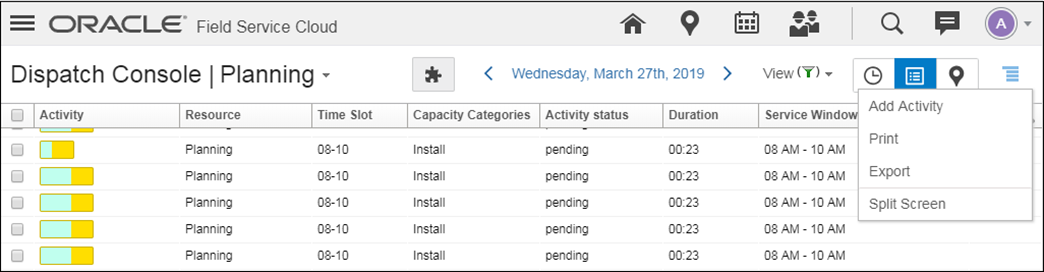 Oracle Field Service Cloud 19B What's New
