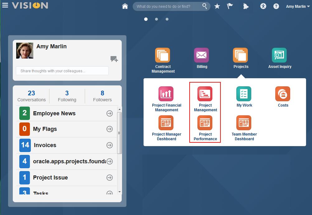 Oracle Project Portfolio Management Cloud Release 11 Whats New