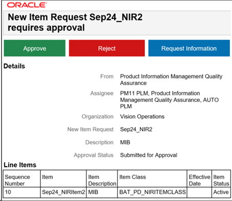 Oracle Product Management Cloud 19A What's New