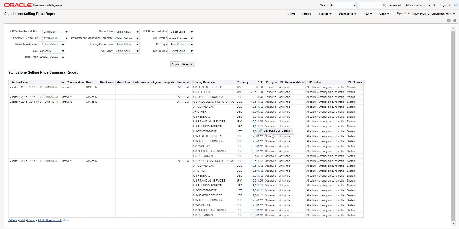 Oracle Financials Cloud R13 (updates 17B - 17D)