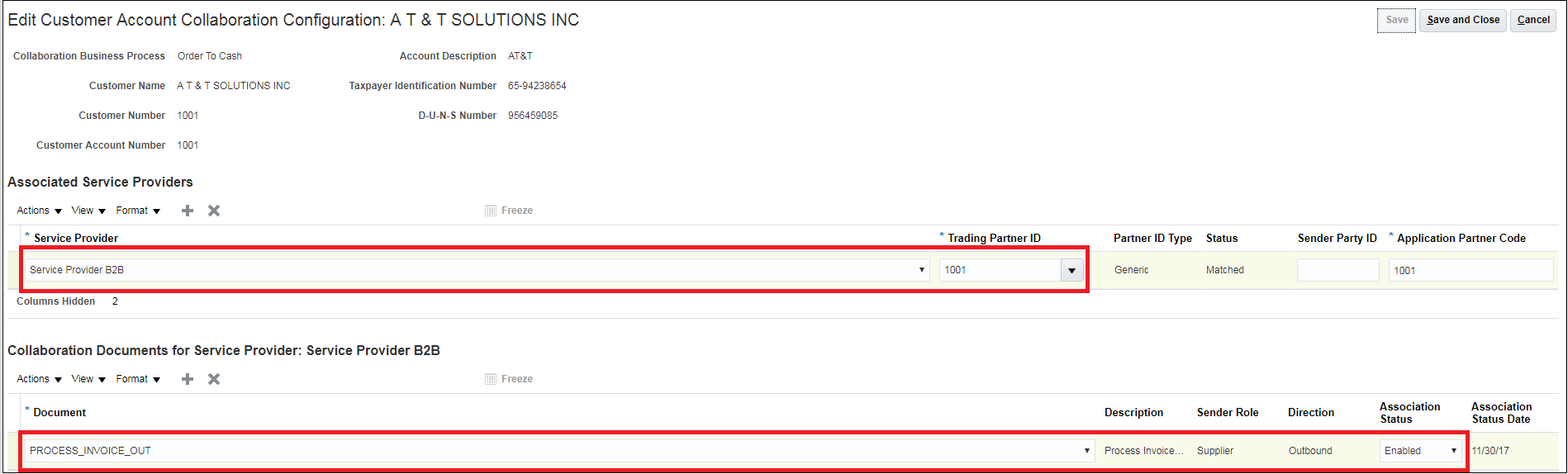Oracle Financials Cloud R13 (updates 18A - 18C)